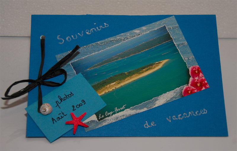 Guide loisirs cr atifs le carnet souvenirs de vacances - Souvenir de vacances ...