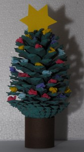 sapin pomme de pin photo