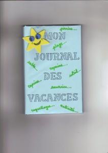 Mon journal des vacances